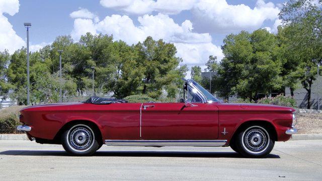 "1963 Chevrolet CORVAIR MONZA 500  CONVERTIBLE ""REALITY TV SHOW CAR!! Phoenix, Arizona 8"
