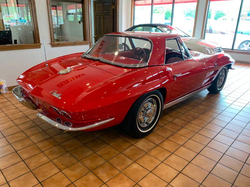 1963 Chevrolet Corvette Convertible Fuel Injection  St Charles Missouri  Schroeder Motors  in St. Charles, Missouri