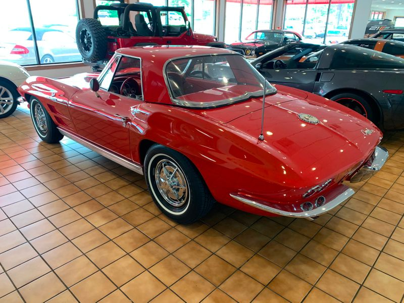 1963 Chevrolet Corvette Convertible Fuel Injection  St Charles Missouri  Schroeder Motors  in St. Charles, Missouri