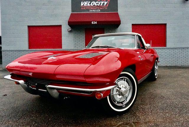 1963 Chevrolet CORVETTE FUEL INJECTED RESTOMOD Valley Park, Missouri