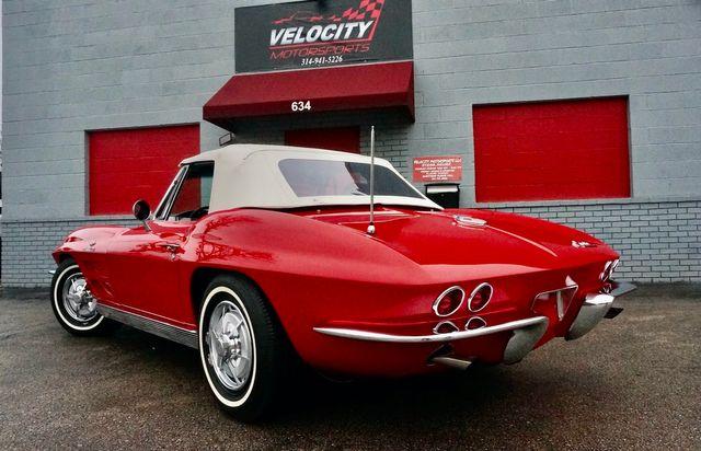 1963 Chevrolet CORVETTE FUEL INJECTED RESTOMOD Valley Park, Missouri 4