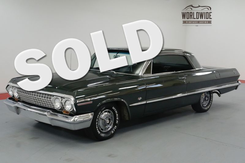 1963 Chevrolet IMPALA SS TRUE SS! 327V8. AUTO. PS PB A/C! MUST SEE! | Denver, CO | Worldwide Vintage Autos