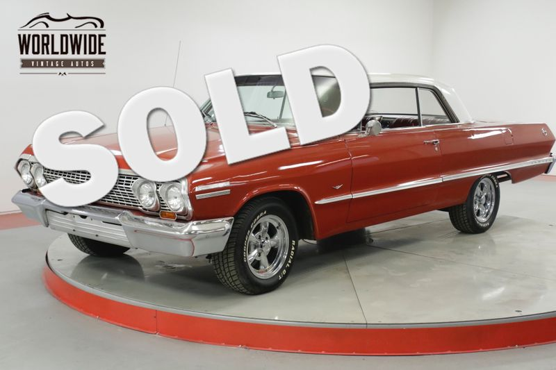 1963 Chevrolet IMPALA 2 DR HARDTOP 350 V8 AUTO PS PB MUST SEE  | Denver, CO | Worldwide Vintage Autos