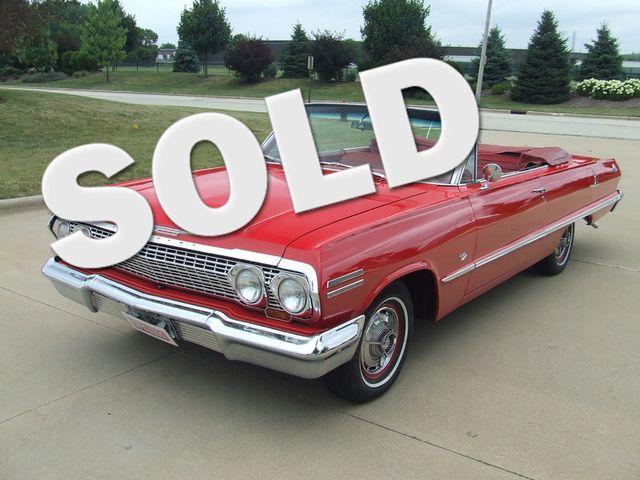 1963 Chevrolet Impala SS   Mokena, Illinois   Classic Cars America LLC in Mokena Illinois
