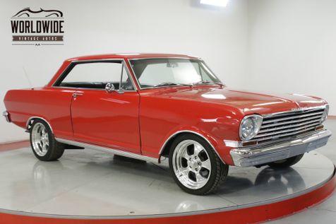 1963 Chevrolet NOVA  RESTORED CHROME DISC PB PS BUILT MUST SEE    Denver, CO   Worldwide Vintage Autos in Denver, CO
