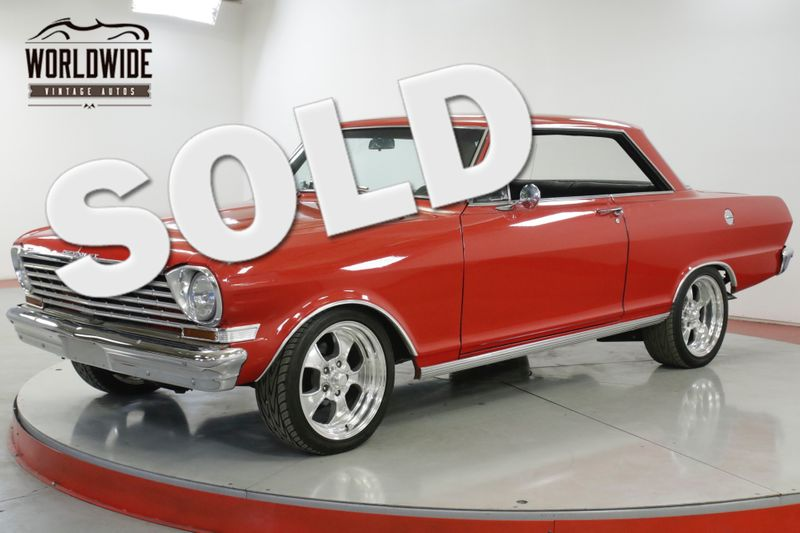 1963 Chevrolet NOVA  RESTORED CHROME DISC PB PS BUILT MUST SEE  | Denver, CO | Worldwide Vintage Autos