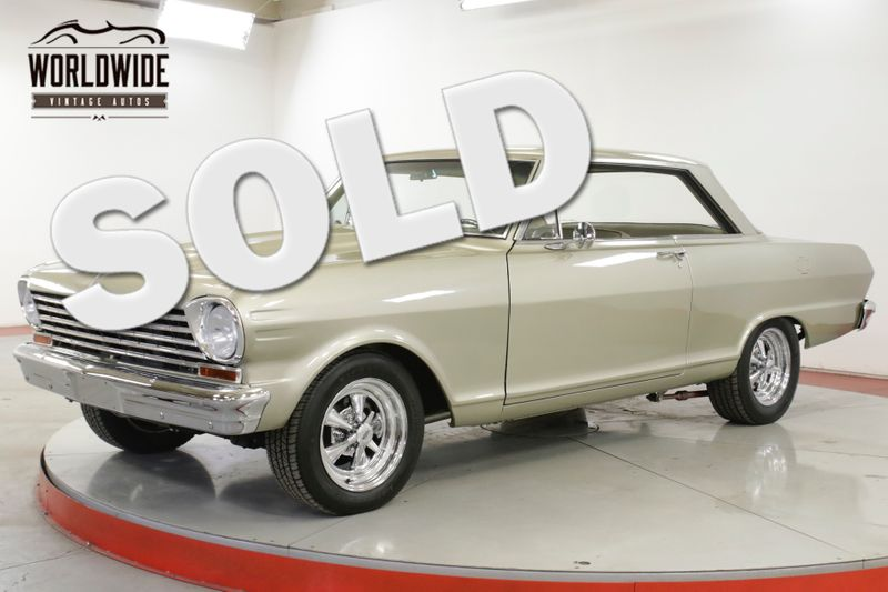 1963 Chevrolet NOVA 2 DOOR HARDTOP 327 AUTO DISC BRAKES PS PB  | Denver, CO | Worldwide Vintage Autos