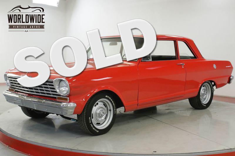 1963 Chevrolet NOVA II  350V8 MUNCIE 4-SPEED FORD 8.8 INCH POSI | Denver, CO | Worldwide Vintage Autos