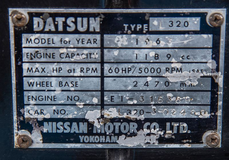 1963 Datsun 1200 Pickup   city TX  Dallas Motorsports  in Wylie, TX