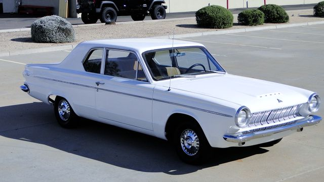 1963 Dodge DART 270 SPORT COUPE CALIFORNIA CAR Phoenix, Arizona 2