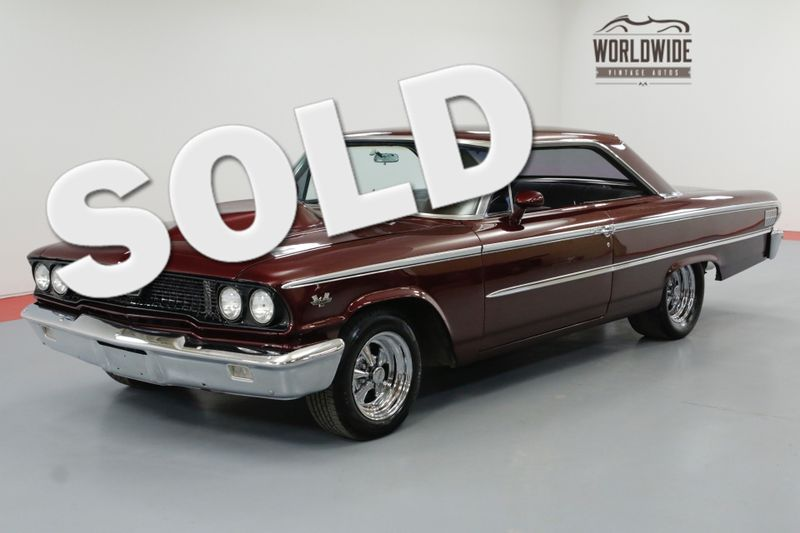 1963 Ford GALAXIE 500 460 CID V8 C6 AUTO 500HP INCREDIBLE BUILD | Denver, CO | Worldwide Vintage Autos