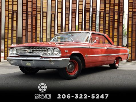 1963 Ford Galaxie 500 2 Door Fastback 390 V8 300HP Matching Numbers 85,000 Actual Miles  in Seattle