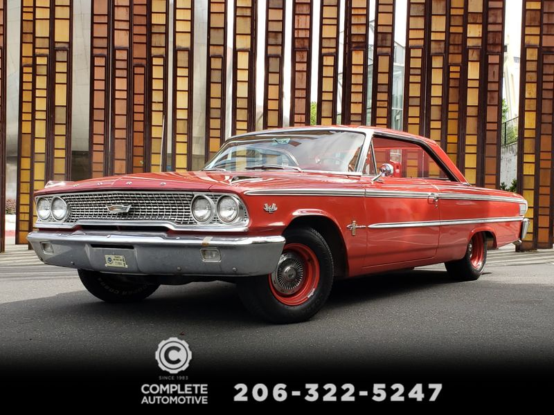 1963 Ford Galaxie 500 2 Door Fastback 390 V8 300HP Matching Numbers 85000 Actual Miles   city Washington  Complete Automotive  in Seattle, Washington