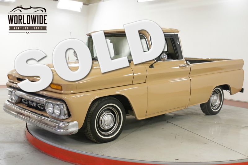 1963 GMC TRUCK SHORT BOX V6 MANUAL LOWERED | Denver, CO | Worldwide Vintage Autos