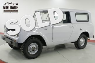 1963 International SCOUT 80 STOCK AND CLEAN REMOVABLE TOP MUST SEE | Denver, CO | Worldwide Vintage Autos in Denver CO