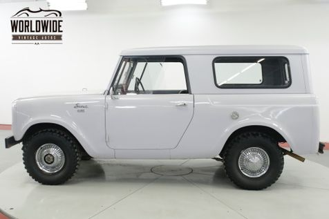 1963 International SCOUT 80 STOCK AND CLEAN REMOVABLE TOP MUST SEE   Denver, CO   Worldwide Vintage Autos in Denver, CO