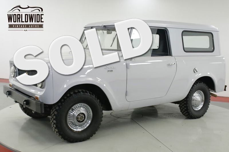 1963 International SCOUT 80 STOCK AND CLEAN REMOVABLE TOP MUST SEE   Denver, CO   Worldwide Vintage Autos