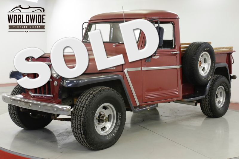 1963 Jeep WILLYS  RARE 4x4 V8 CHROME COLLECTOR MUST SEE | Denver, CO | Worldwide Vintage Autos