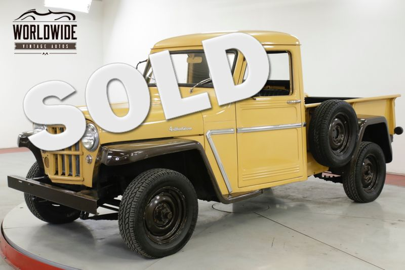 1963 Jeep WILLYS LOW MILES. 4X4. SHORTBOX. COLLECTOR GRADE  | Denver, CO | Worldwide Vintage Autos
