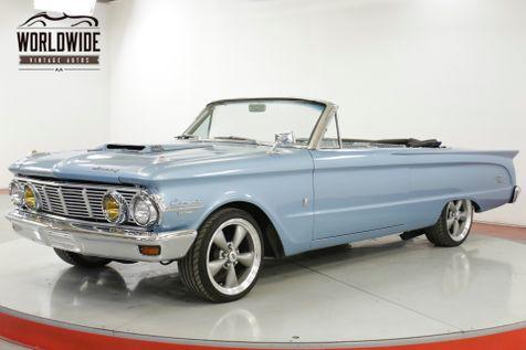 1963 Mercury COMET  CONVERTIBLE CUSTOM RESTOMOD 351 V8 5SPD   Denver, CO   Worldwide Vintage Autos in Denver, CO