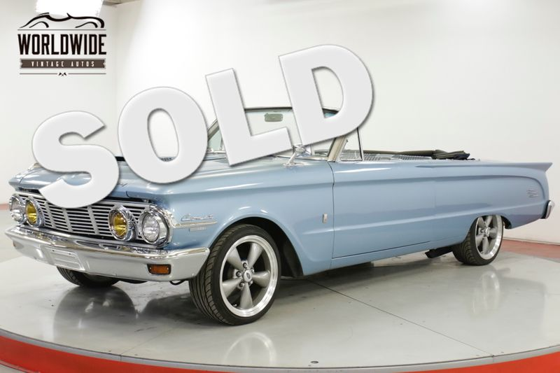 1963 Mercury COMET  CONVERTIBLE CUSTOM RESTOMOD 351 V8 5SPD | Denver, CO | Worldwide Vintage Autos