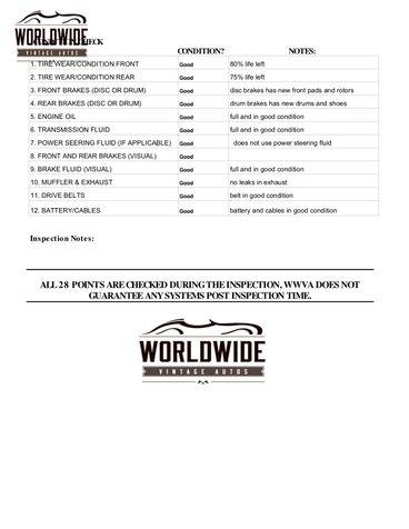 1963 Mg MGB RARE ROADSTER CONVERTIBLE. RESTORED. MANUAL  | Denver, CO | Worldwide Vintage Autos in Denver, CO