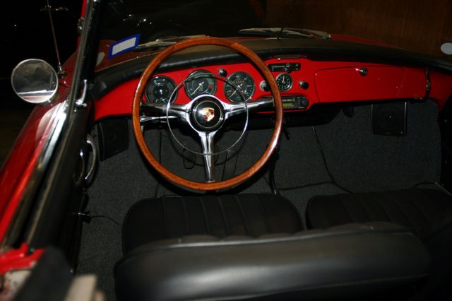 1963 Porsche 356 Convt Houston, Texas 19