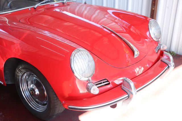 1963 Porsche 356 Convt Houston, Texas 3