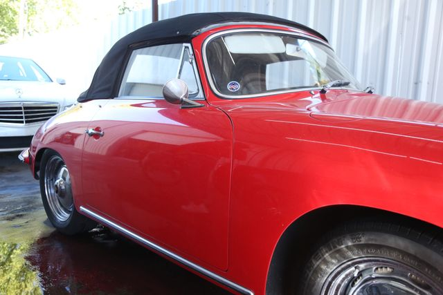 1963 Porsche 356 Convt Houston, Texas 14