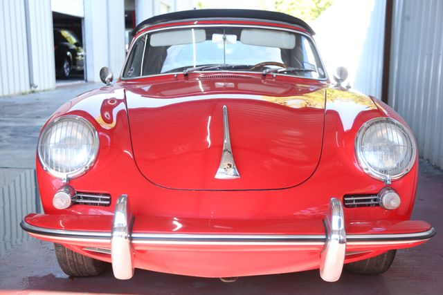 1963 Porsche 356 Convt Houston, Texas 4
