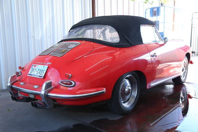 1963 Porsche 356 Convt Houston, Texas 10