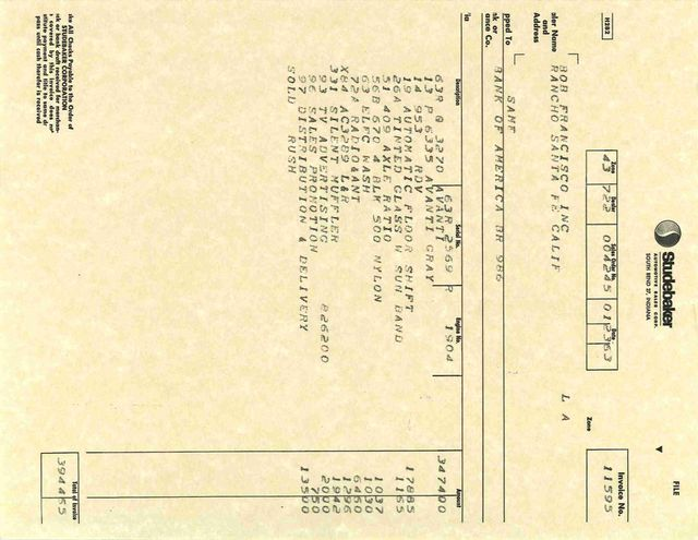 1963 Studebaker Avanti R1 Boerne, Texas 44