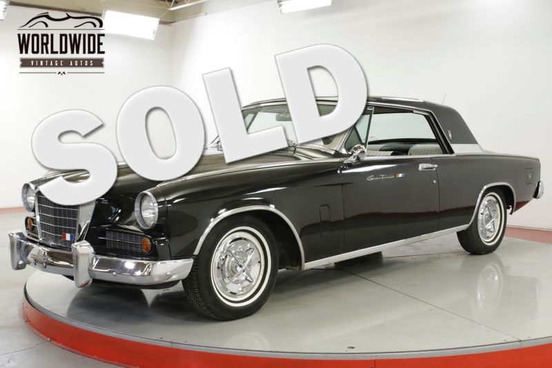 1963 Studebaker GT HAWK R1 1 of 369 PRODUCED COLLECTOR AZ CAR AC PS   Denver, CO   Worldwide Vintage Autos