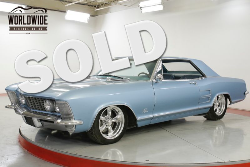 1964 Buick RIVIERA  425 NAIL HEAD V8 LOWERED AUTO PS PB | Denver, CO | Worldwide Vintage Autos