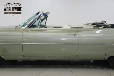 1964 Cadillac CONVERTIBLE CONVERTIBLE RARE GREAT COLOR V8  | Denver, CO | Worldwide Vintage Autos in Denver, CO