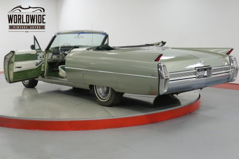 1964 Cadillac CONVERTIBLE CONVERTIBLE RARE GREAT COLOR V8  | Denver, CO | Worldwide Vintage Autos in Denver, CO
