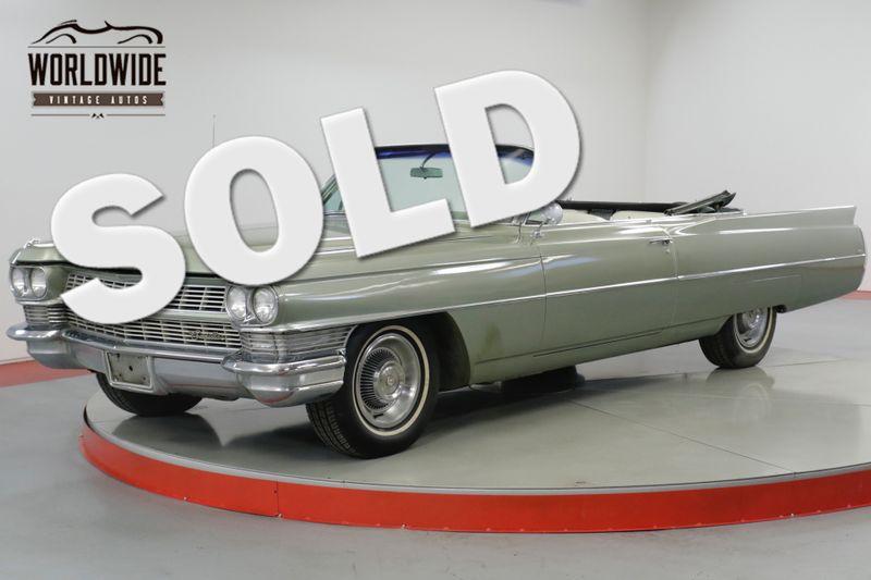 1964 Cadillac CONVERTIBLE CONVERTIBLE RARE GREAT COLOR V8    Denver, CO   Worldwide Vintage Autos