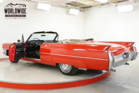 1964 Cadillac DEVILLE CONVERTIBLE NEW PAINT CLEAN AZ CAR V8 | Denver, CO | Worldwide Vintage Autos in Denver, CO
