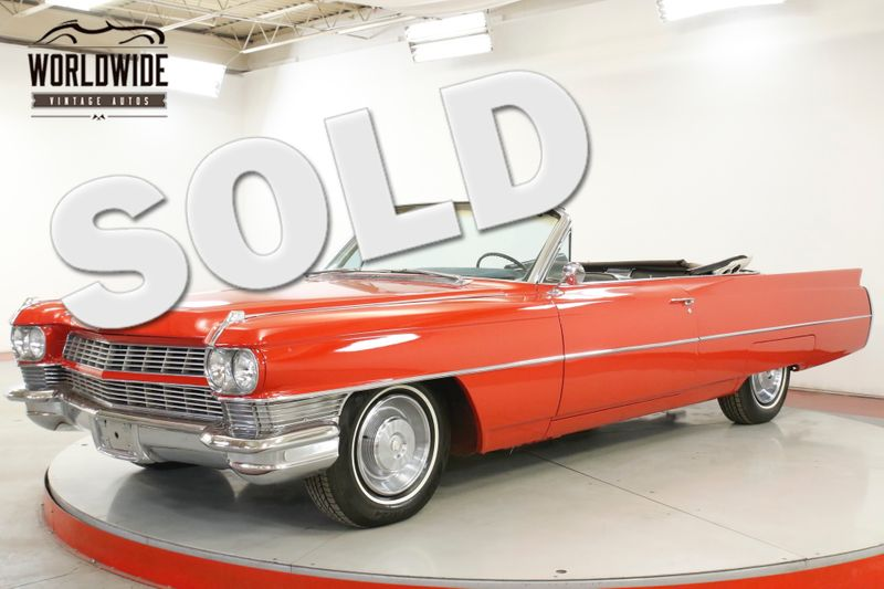 1964 Cadillac DEVILLE CONVERTIBLE NEW PAINT CLEAN AZ CAR V8 | Denver, CO | Worldwide Vintage Autos