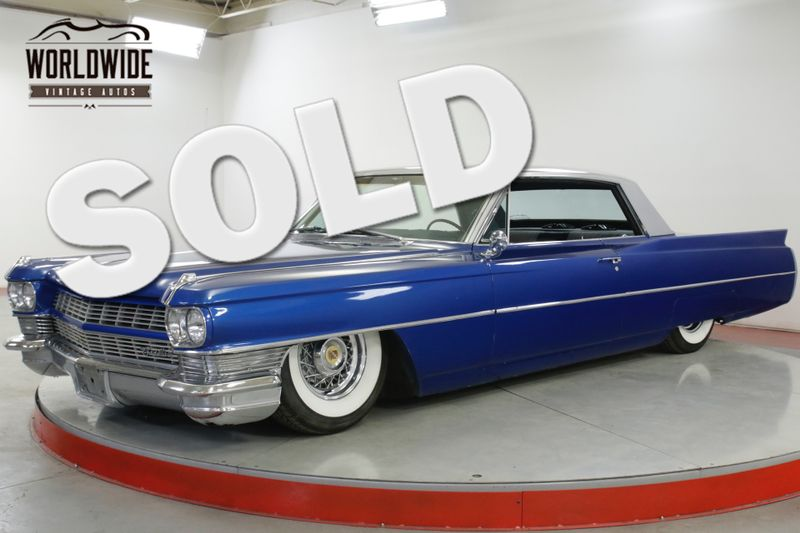 1964 Cadillac DEVILLE LS1 MOTOR AUTO AIR RIDE PS PB ONE OF A KIND | Denver, CO | Worldwide Vintage Autos