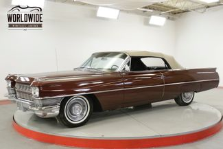 1964 Cadillac DEVILLE 429V8 AUTOMATIC PS PB POWER TOP | Denver, CO | Worldwide Vintage Autos in Denver CO