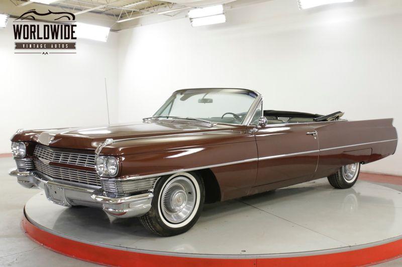 1964 Cadillac DEVILLE 429V8 AUTOMATIC PS PB POWER TOP   Denver, CO   Worldwide Vintage Autos