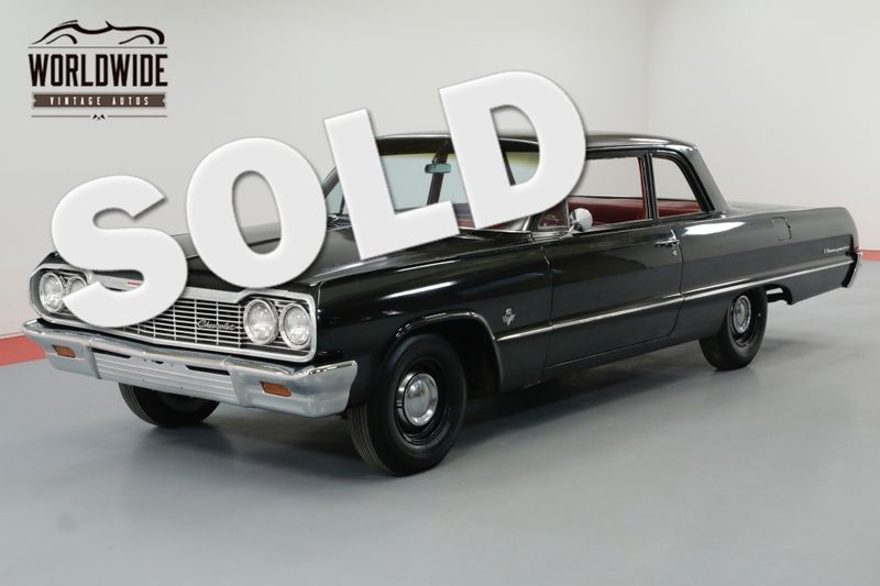 1964 Chevrolet BISCAYNE DUAL QUAD 409V8 4-SPEED RARE | Denver, CO | Worldwide Vintage Autos