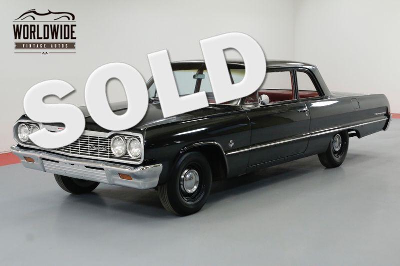 1964 Chevrolet BISCAYNE DUAL QUAD 409V8 4-SPEED RARE | Denver, CO | Worldwide Vintage Autos