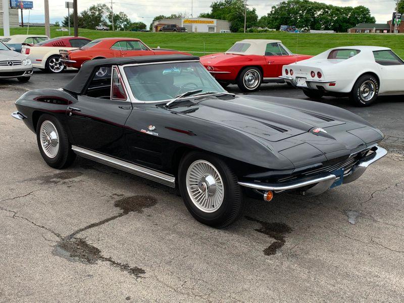 1964 Chevrolet Corvette Convertible Fuel Injection  St Charles Missouri  Schroeder Motors  in St. Charles, Missouri