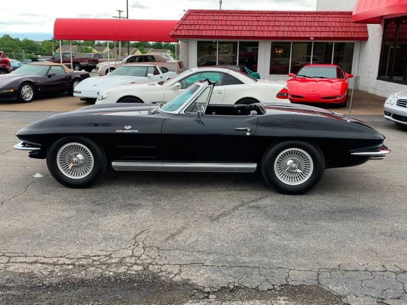 1964 Chevrolet Corvette Convertible Fuel Injection  St Charles Missouri  Schroeder Motors  in St. Charles, Missouri