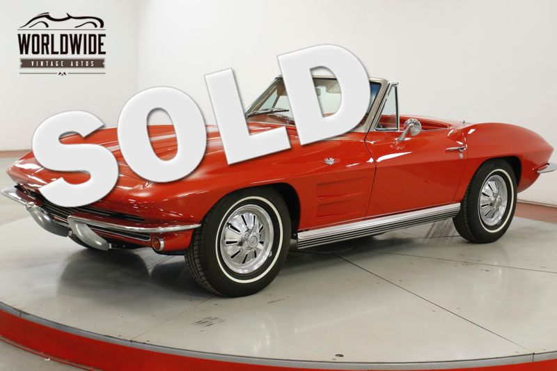 1964 Chevrolet CORVETTE STINGRAY 327 2 OWNER BODY OFF RESTORATION  | Denver, CO | Worldwide Vintage Autos