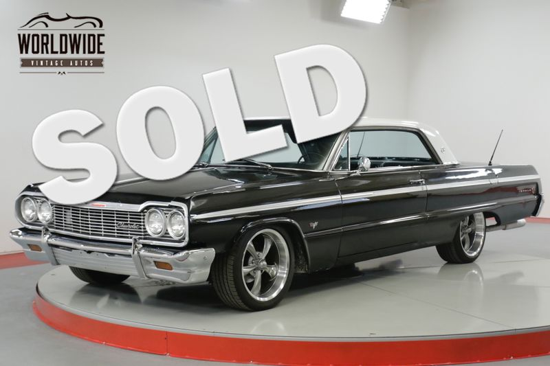 1964 Chevrolet IMPALA  SS.V8 TH350 AUTO DISC BRAKES. MUST SEE!  | Denver, CO | Worldwide Vintage Autos