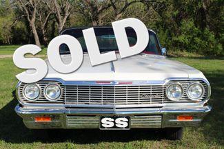 1964 Chevrolet Impala  Factory 4Sp SS Tribute Liberty Hill, Texas