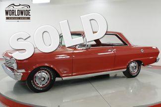 1964 Chevrolet NOVA II TRUE SS RESTORED HARDTOP CHROME V8 4 SPEED   Denver, CO   Worldwide Vintage Autos in Denver CO